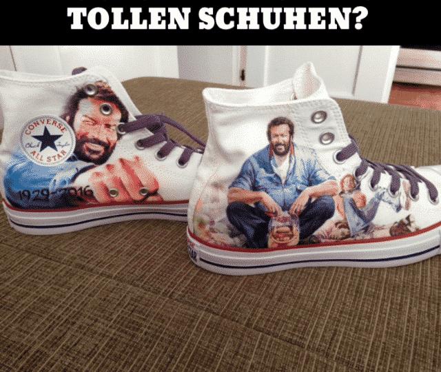 size 40 599d6 72dd0 ᐅ Bud Spencer Chucks von Converse - Jetzt kaufen
