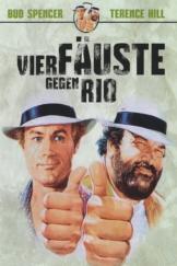 """Plakat von """"Vier Fäuste gegen Rio"""""""
