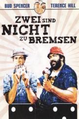 """Plakat von """"Zwei sind nicht zu bremsen"""""""