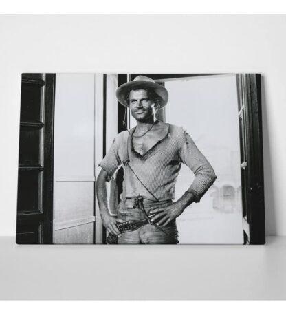Terence Hill - Der müde Joe - Saloon - Die rechte und die linke Hand des Teufels - Leinwand