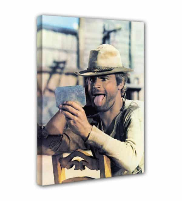 Terence Hill - Spiegel - Mein Name ist Nobody - Leinwand
