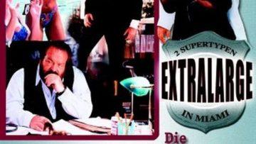 """Plakat von """"Zwei Supertypen in Miami – Die Schöne mit dem kleinen Tick"""""""
