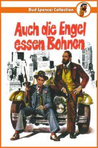 """Plakat von """"Auch die Engel essen Bohnen"""""""