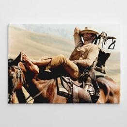 Terence Hill - Der müde Joe - Pferd - Vier Fäuste für ein Halleluja - Leinwand