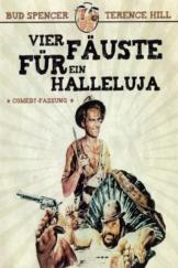 """Plakat von """"Vier Fäuste für ein Halleluja"""""""