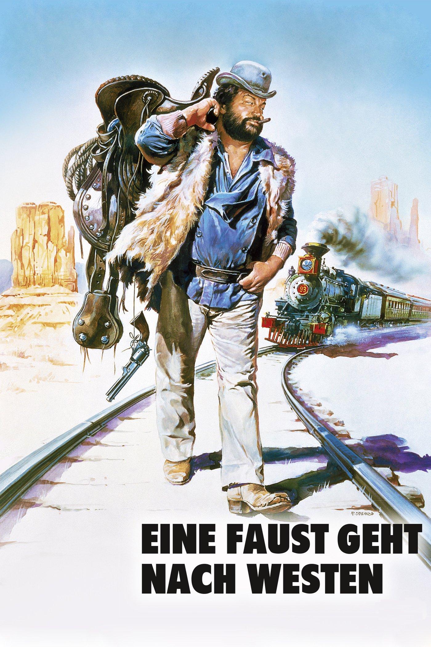 """Plakat von """"Eine Faust geht nach Westen"""""""