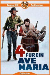 """Plakat von """"Vier für ein Ave Maria"""""""