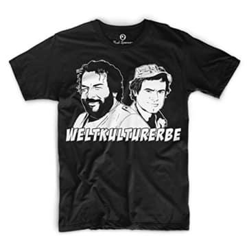 Bud Spencer Weltkulturerbe T-Shirt (schwarz)