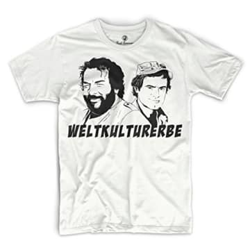 Bud Spencer Weltkulturerbe T-Shirt (weiss)