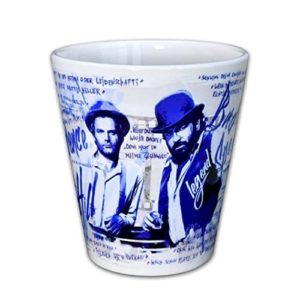 Terence Hill & Bud Spencer - Cappuccino Tasse (330ml)