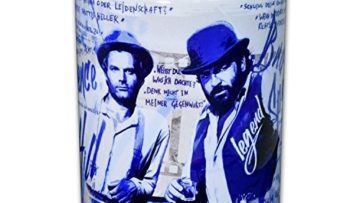 Terence Hill & Bud Spencer Tasse rund (330ml)