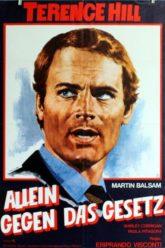 """Plakat von """"Allein gegen das Gesetz"""""""
