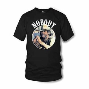 Nobody - T-Shirt (schwarz) - Mein Name ist Nobody - Terence Hill