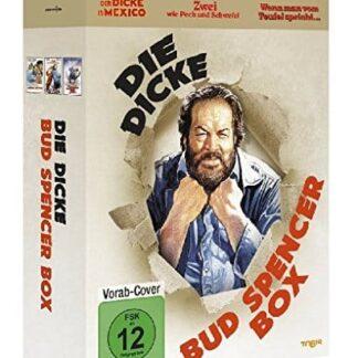 Die dicke Bud Spencer Box – Drei DVDs erwarten Sie