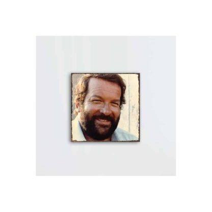 Bud Spencer Portrait 1 - Holz-Schild