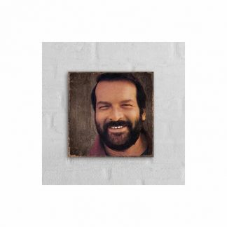 Bud Spencer Portrait 2 - MDF-Schild