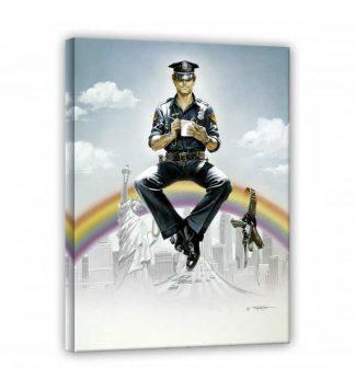 Terence Hill - Supercop - Leinwand - Renato Casaro Edition