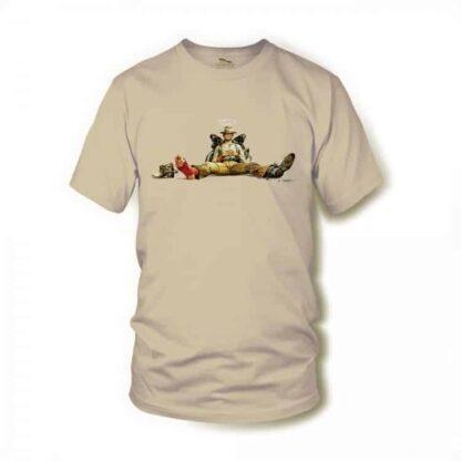 Nobody sitzend - Terence Hill - Renato Casaro Edition - T-Shirt