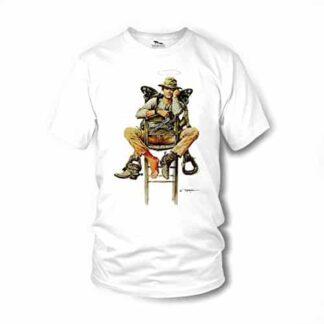Nobody Stuhl - Mein Name ist Nobody T-Shirt- Renato Casaro Edition