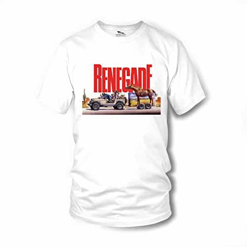 Renegade Jeep T-Shirt - Renato Casaro Edition