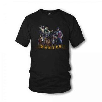 vier-faeuste-fuer-ein-halleluja-wanted-t-shirt