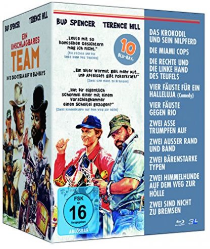 Bud Spencer & Terence Hill - Ein unschlagbares Team [Blu-ray]