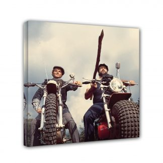 Bud Spencer Terence Hill - Zwei wie Pech und Schwefel - Motorrad - Leinwand