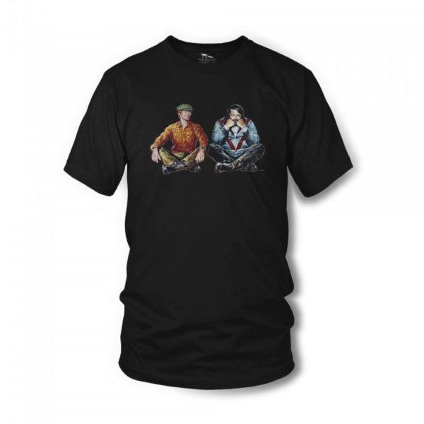 zwei-wie-pech-und-schwefel-t-shirt