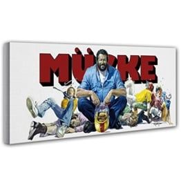 Bud Spencer nannten ihn Mücke (Lo chiamavano Bulldozer) - Leinwand