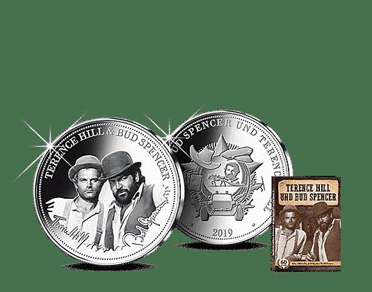 Neue Gedenkmünzen Von Bud Spencer Und Terence Hill Von Mdm