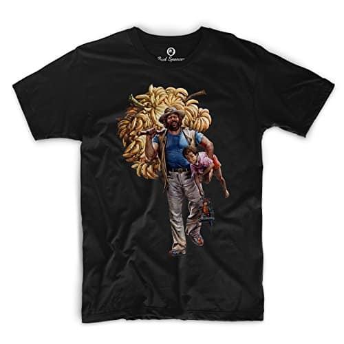 Bud Spencer - Banana Joe - T-Shirt schwarz