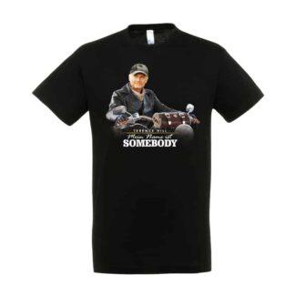 """T-Shirt """"Mein Name ist Somebody"""" - Motiv: Motorrad"""