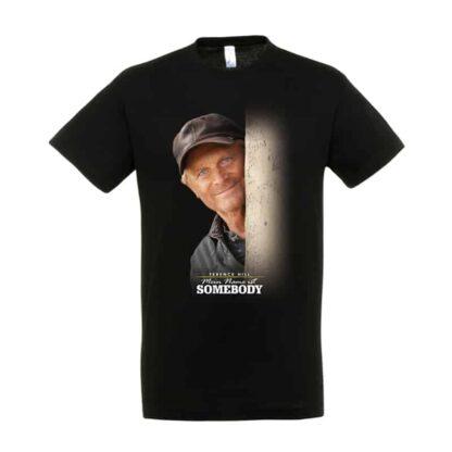 """T-Shirt """"Mein Name ist Somebody"""" - Motiv: Gesicht"""