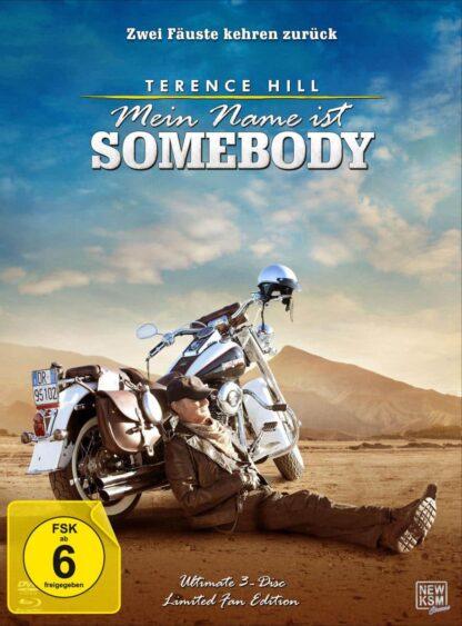 Mein Name ist Somebody - Zwei Fäuste kehren zurück - Ultimate 3-Disc Limited Fan Edition im Mediabook (DVD + Blu-ray + Bonus-Disc)