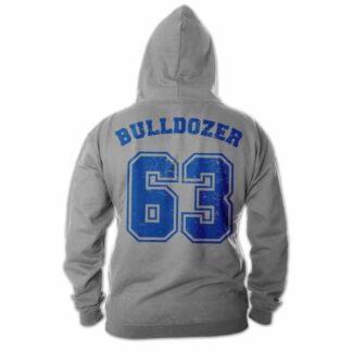 Bulldozer 63 - Hoodie (grau) - Bud Spencer