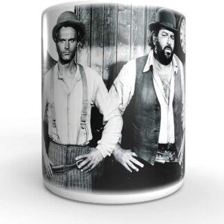 Terence Hill Brüder - Vier Fäuste für EIN Halleluja Bud Spencer - Tasse rund (330ml)