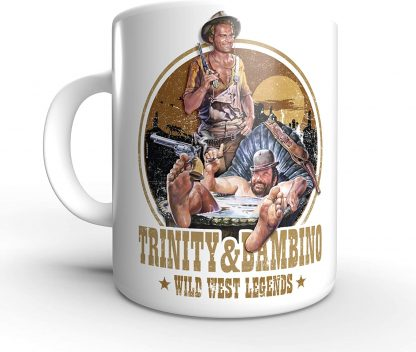 Trinity and Bambino - Wild West Legends - Terence Hill und Bud Spencer - Tasse rund