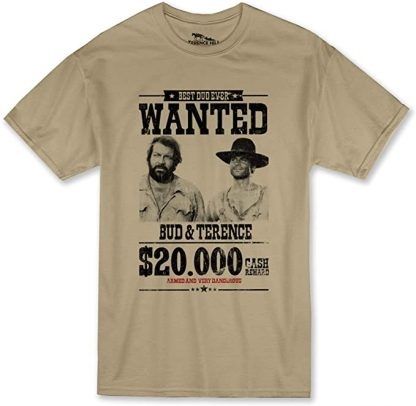Bud Spencer Terence Hill - Wanted $20.000 T-Shirt (Sand)
