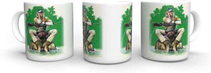 Terence Hill Slim und Tom - Das Krokodil und Sein Nilpferd Bud Spencer - Tasse rund (330ml)