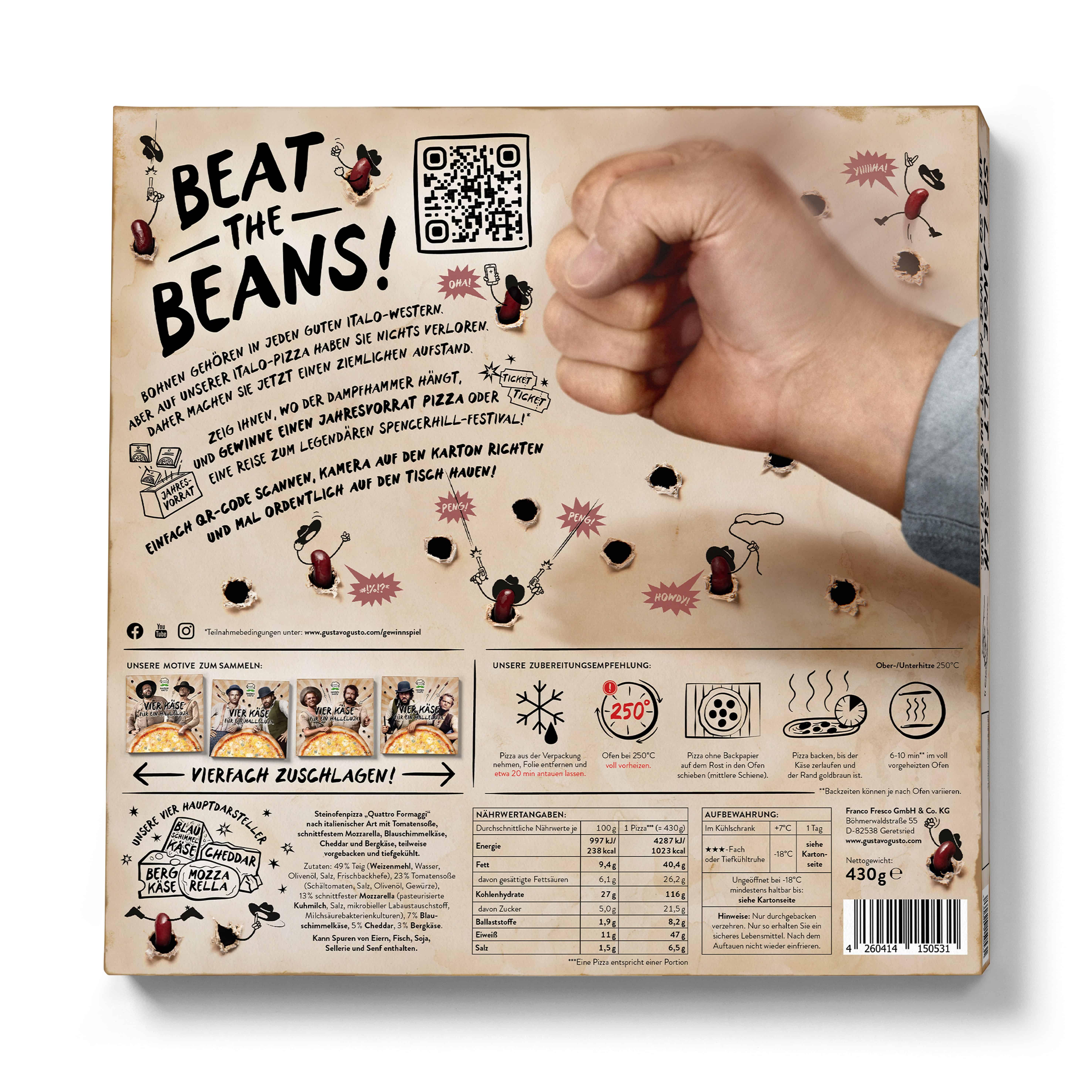 Gustavo Gusto Beat the Beans Spiel