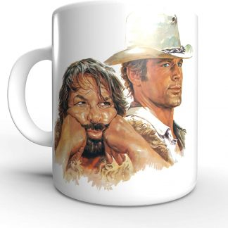 Terence Hill Terence und Bud Bud Spencer - Tasse rund (330ml)