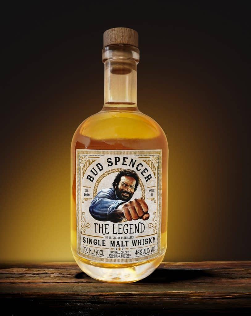 Bud spencer Whisky Etikett