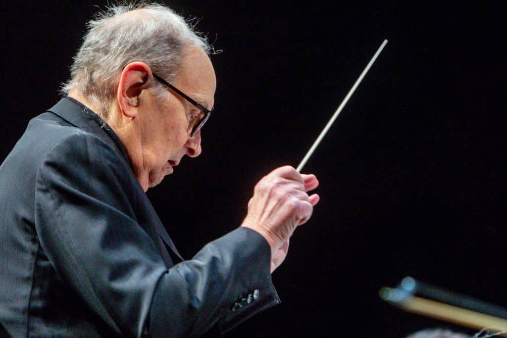 Ennio Morricone als Dirigent