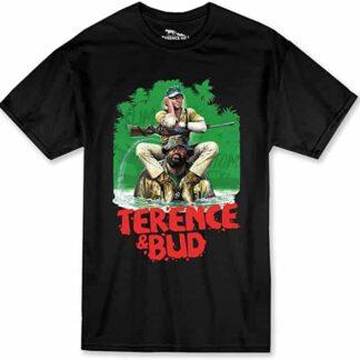 Terence Hill Bud Spencer - Hippo T-Shirt (schwarz)