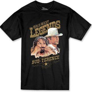 Terence Hill Bud Spencer - Wild West Legends T-Shirt (schwarz)