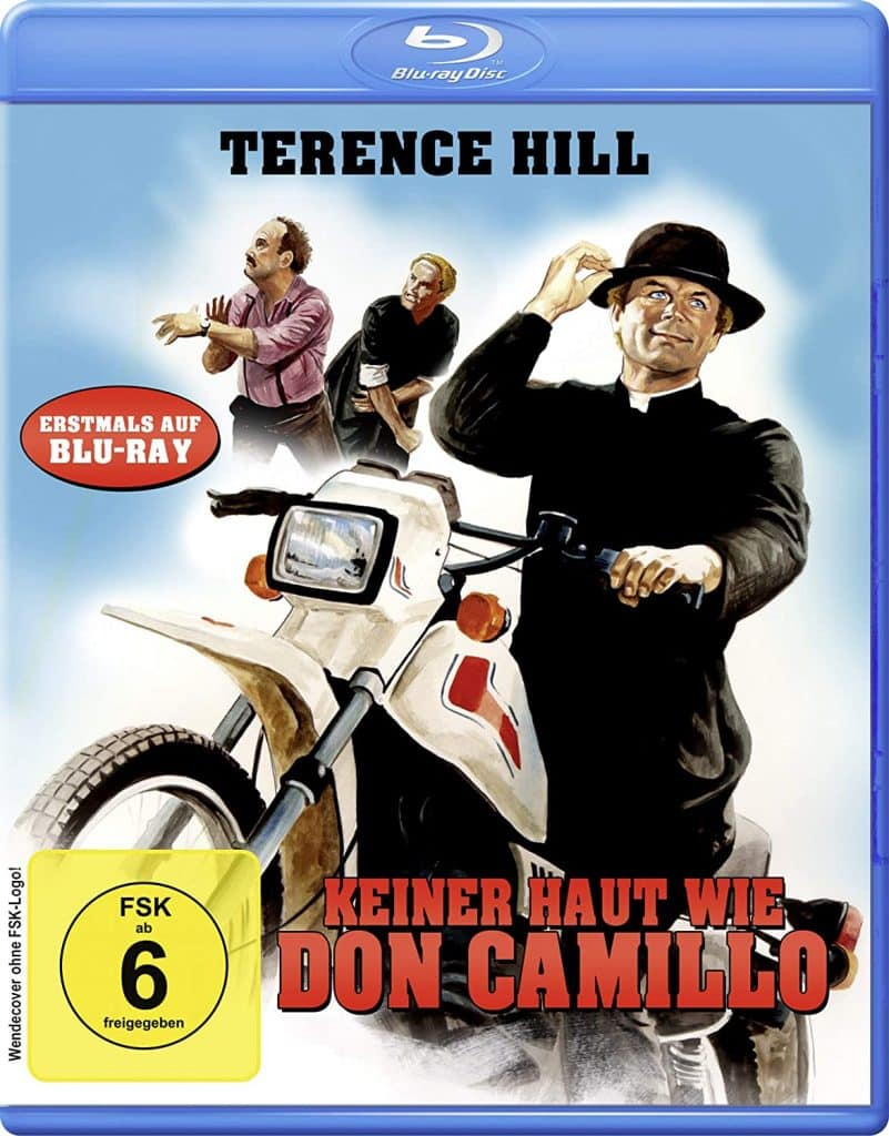 Keiner haut wie Don Camillo blu-ray Cover