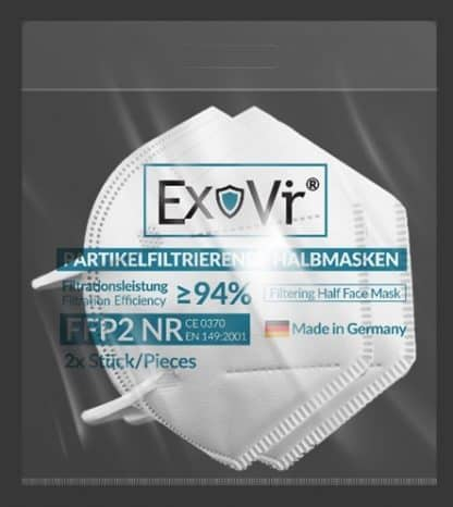ExoVir FFP2 Atemschutzmaske